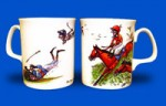 Bryn Parry Bone China Mug - Turf Club