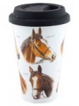 Grays Ceramic Racehorse Design Travel Mug t no e
