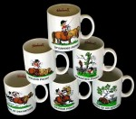 Thelwell Talking Mugs