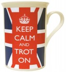 Mug Keep Calm and Trot on