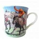 * Horse Jockey Mug