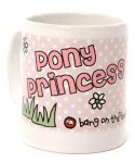 carrots bang pony princess mug